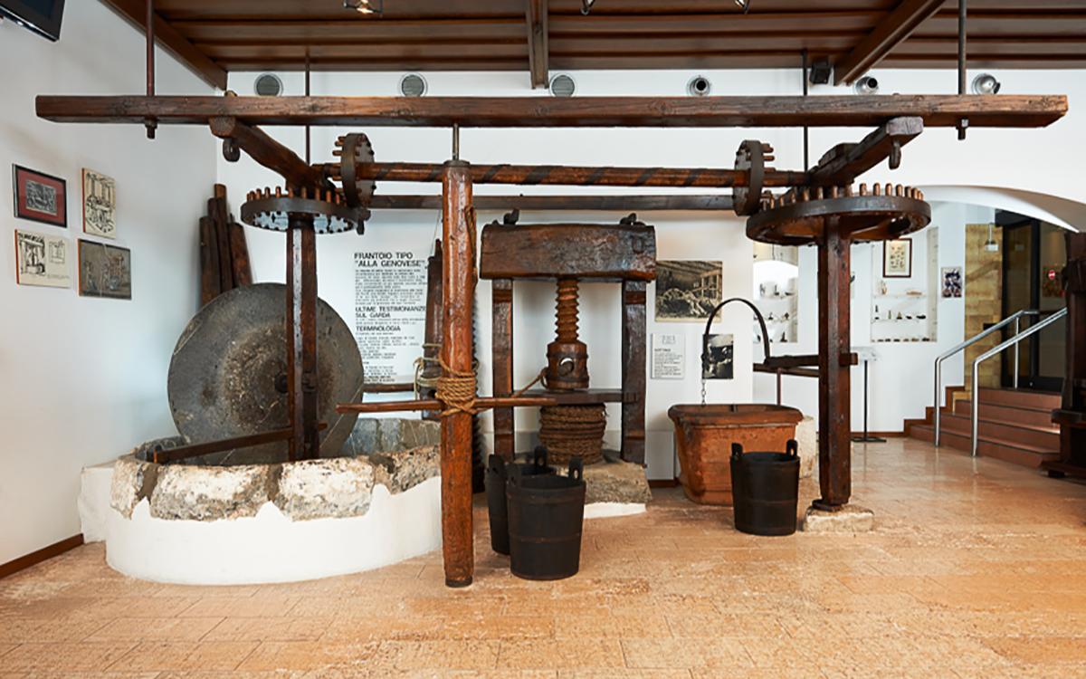 Museo dell'olio a Cisano di Bardolino